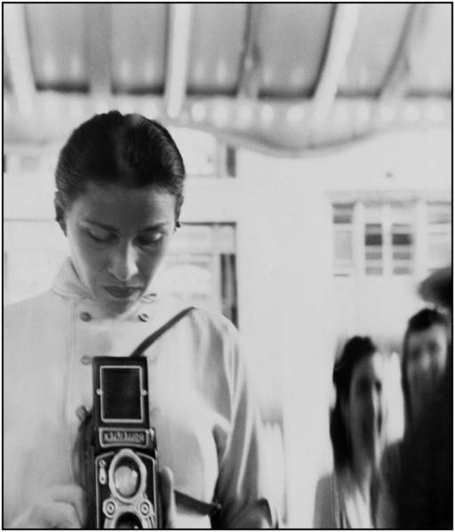 Eve Arnold con Rolleiflex