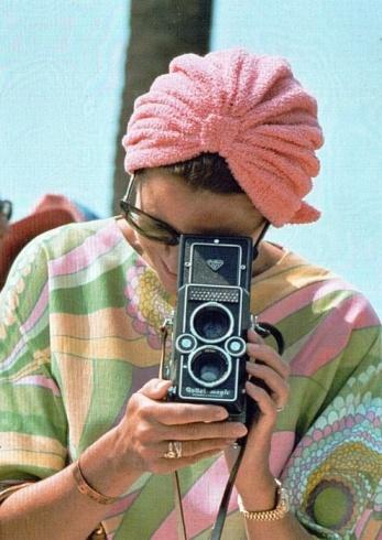 Grace Kelly y Rolleiflex Magic modelo II