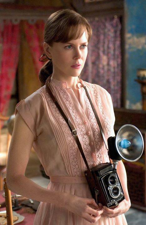 Nicole Kidman con Rolleiflex