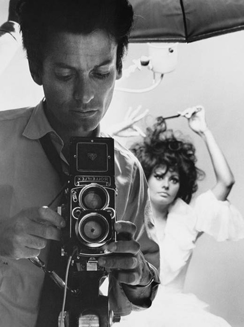 Richard Avedon (1923-2004), con Sophia Loren, 1966