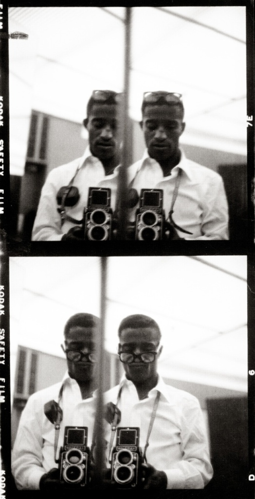 Sammy Davis con Rolleiflex