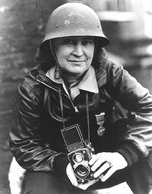 "Thérèse Bonney – French Photographer - Bonney was best known for her images taken during World War II on the Russian-Finnish front. Her war effort resulted in her being decorated with the Croix de guerre and one of the five degrees the Légion d'honneur. She published several photo-essays and was the subject of the 1944 True Comics issue ""Photofighter."""