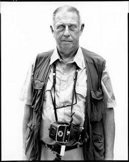 El fotógrafo estadounidense Lee Friedlander, por Richard Avedon, 2002