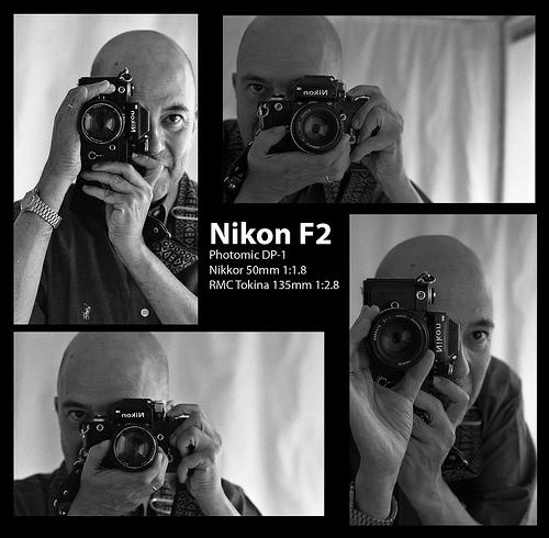 Anonimous I with Nikon F2