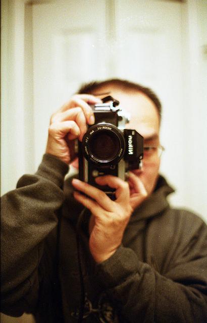 Anonimous III with Nikon F2