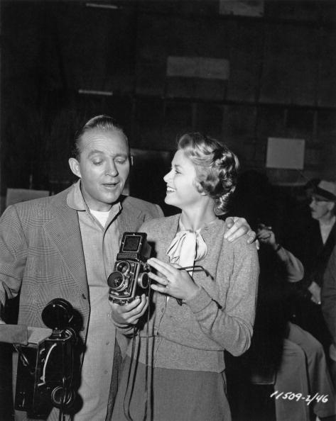 Bing Crosby y Grace Kelly hacia 1953