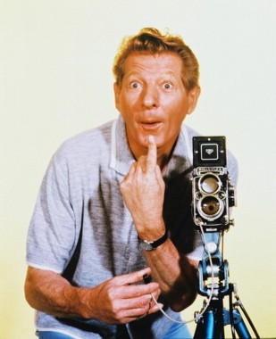 El actor y cómico norteamericano Danny Kaye (1913-1987)