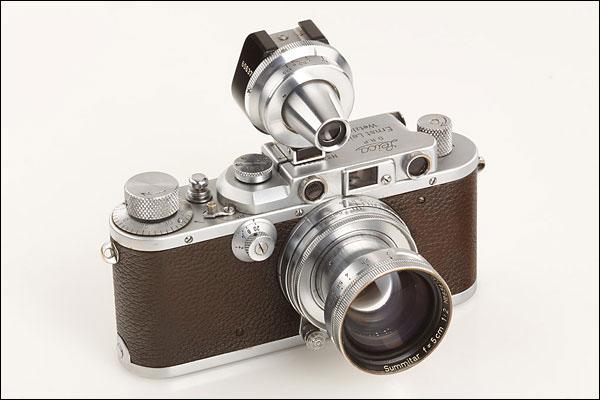 Leica IIIa de Alfred Eisenstaedt