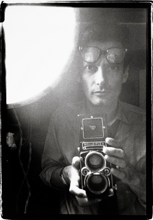 Richard Avedon, self-portrait, ca1963