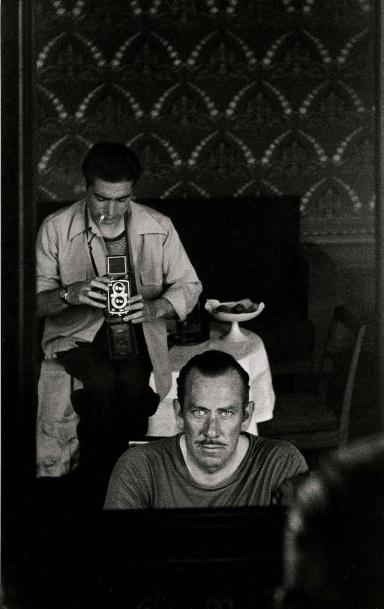 Robert Capa y John Steinbeck