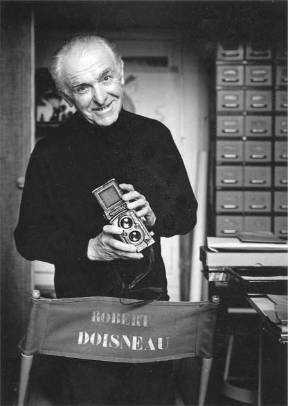 Robert Doisneau, 1992. Por Peter Hamilton