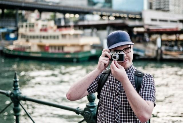 Con Leica IIIa
