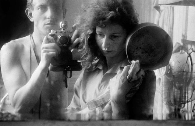Ed van der Elsken y Ata Kandó, 1953
