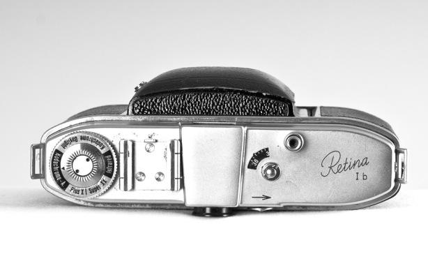 Kodak Retina vista-superior