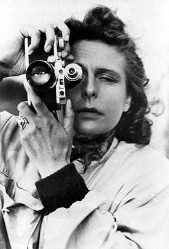 La polémica fotógrafa alemana Leni Riefenstahl en 1939