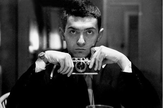 stanley-kubrick-self-portrait con Leica