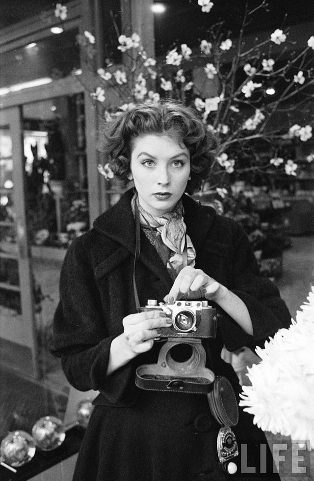 Suzy Parker en New York, 1953