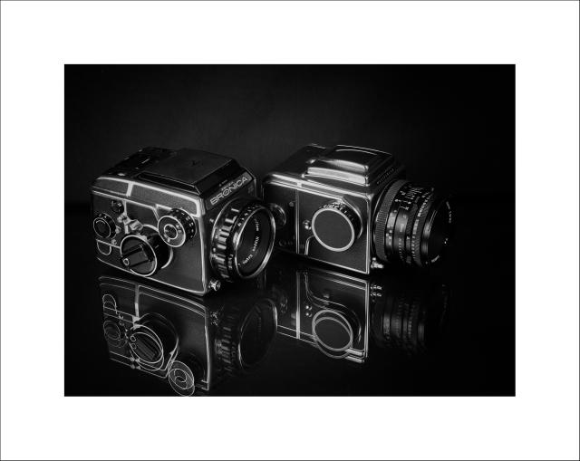 Zenza Bronica EC-TL y Hasselblad 500 C/M