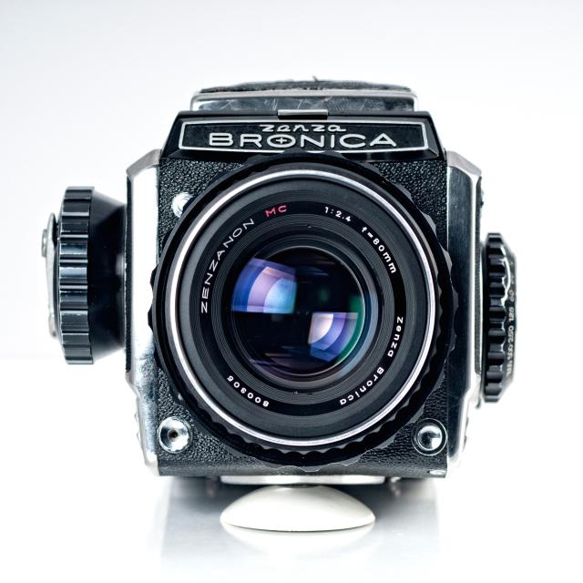 Con el Zenzanon MC 80mm f:2.4