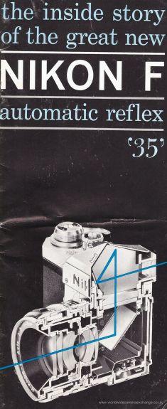 Nikon F, folleto 1959
