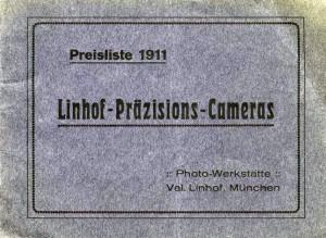 Linhof. Catalogo de 1911