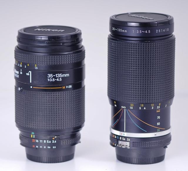 Nikkor 35-135mm f/3.5-4.5 AF, Nikkor 35-135mm f/3.5-4.5 AIs