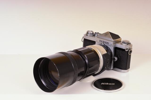 Nikon F + Nikkor 300mm