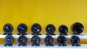Objetivos Nikon frontal