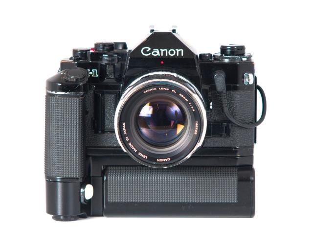 Canon A1 fontal