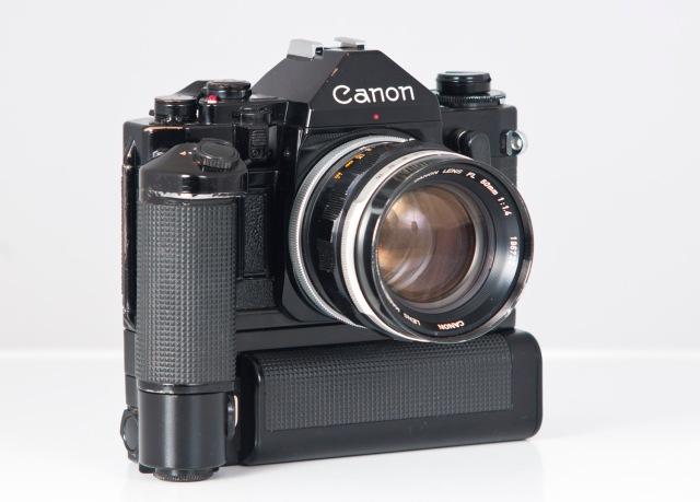 Canon A1 frontolateral
