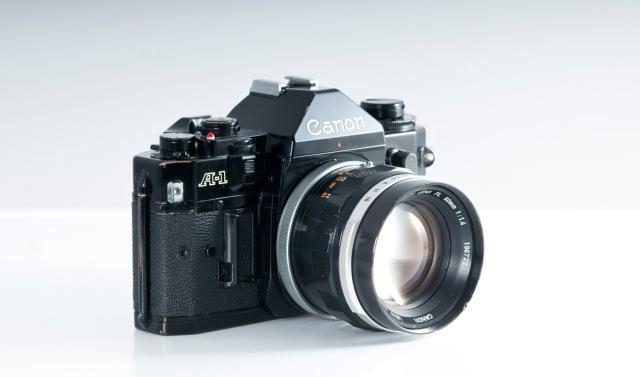 Canon A1 sin motor