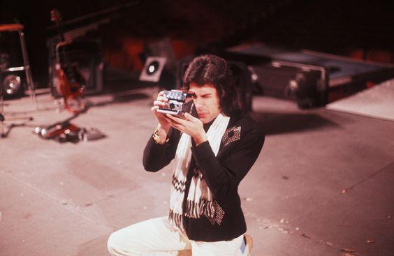 Freddie con SX70