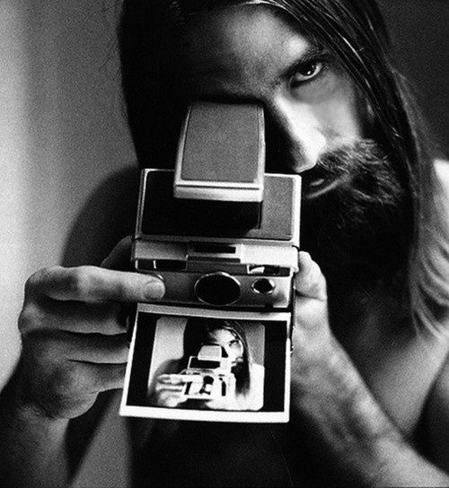 Mick Fleetwood con SX-70