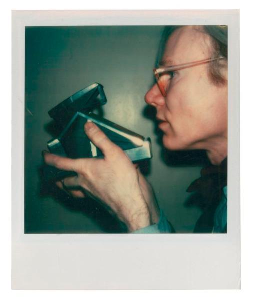 Warhol con SX-70