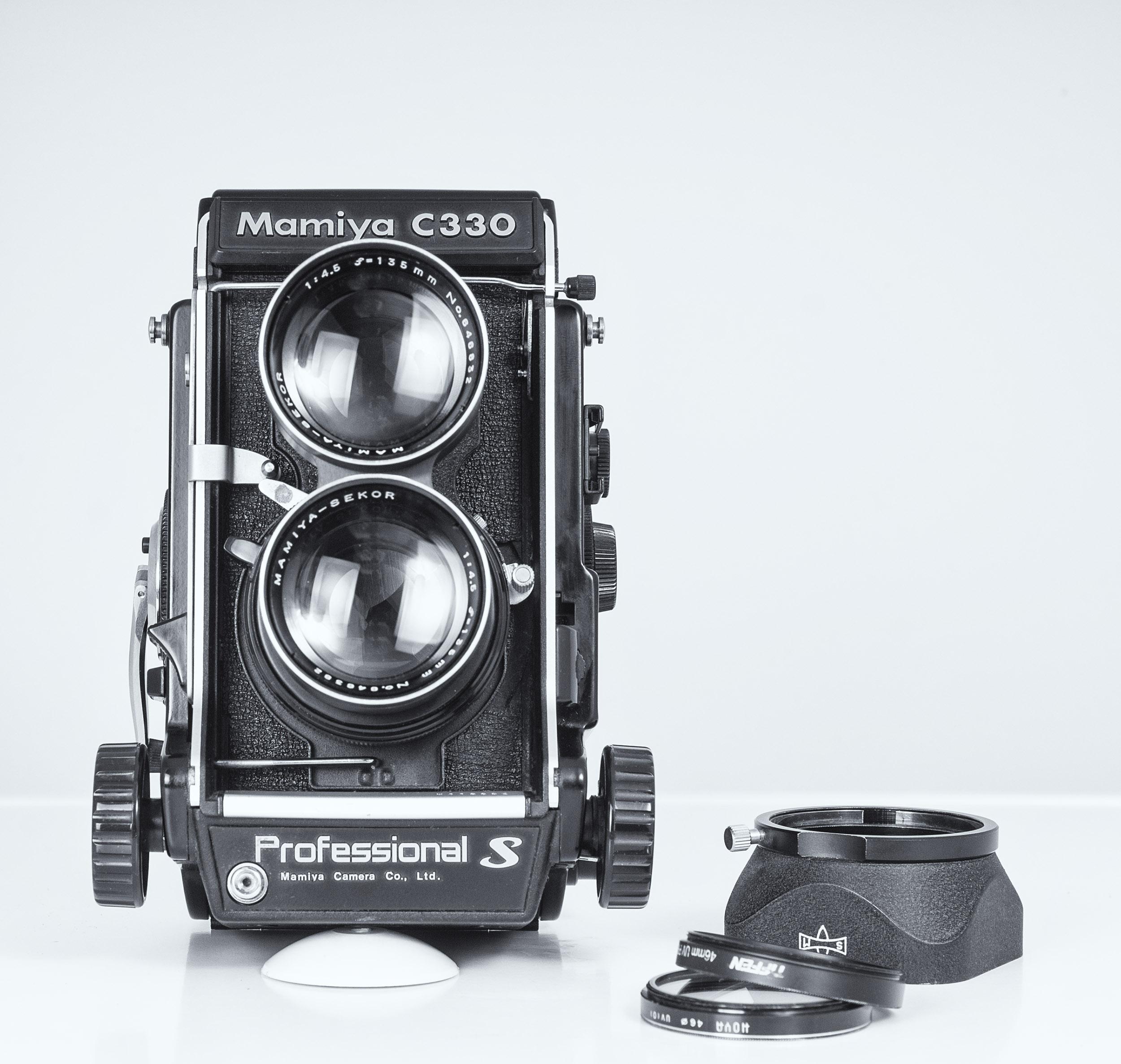 C330S Frontal y accesorios