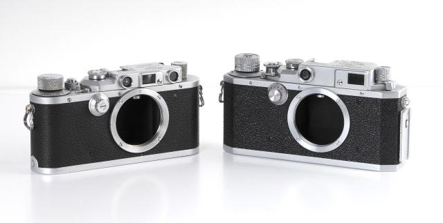 Leica Canon frente